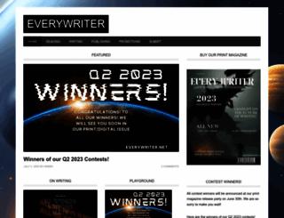 everywritersresource.com screenshot