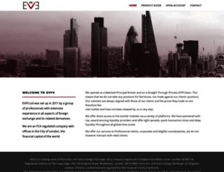 evfx.co.uk screenshot