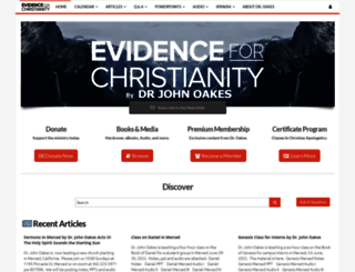 evidenceforchristianity.org screenshot