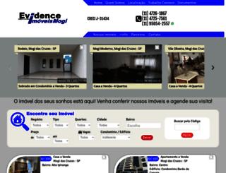 evidenceimoveismogi.com.br screenshot