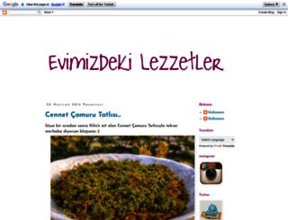 evimizdekilezzetler.blogspot.com.tr screenshot