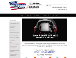 evinrude-parts.com screenshot