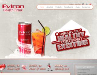 evironhealthdrink.com screenshot