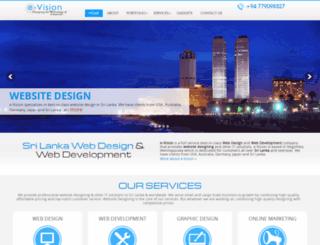 evisionlk.com screenshot
