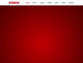 evisionpr.com.cn screenshot
