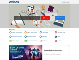 evisos.com.br screenshot
