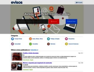 evisos.com.co screenshot