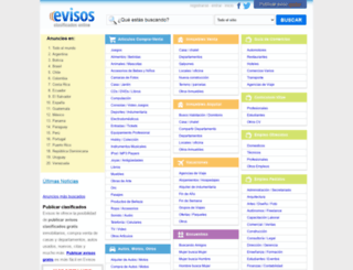 evisos.net screenshot