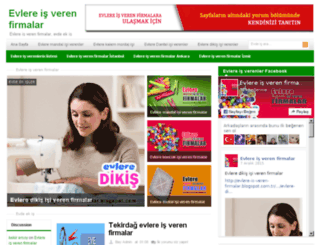 evlere-is-veren-firmalar.blogspot.com.tr screenshot