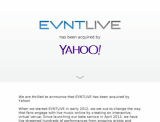 evntlive.com screenshot