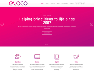 evocodesign.com.au screenshot