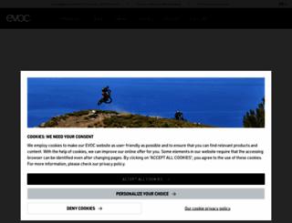 evocsports.com screenshot