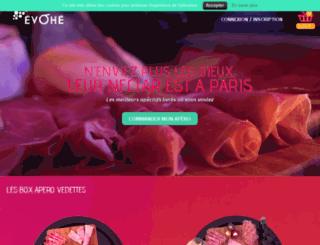 evohe-paris.fr screenshot
