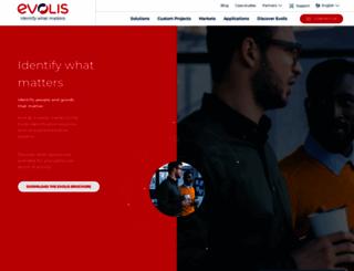 evolis.com screenshot