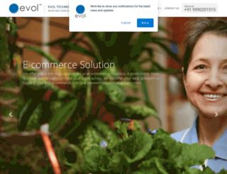 evoltechnologies.com screenshot