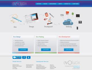 evolucix.com screenshot