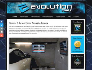 evolutionchips.co.uk screenshot