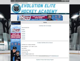 evolutionelitehockey.com screenshot