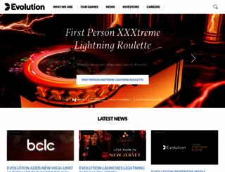 evolutiongaming.com screenshot