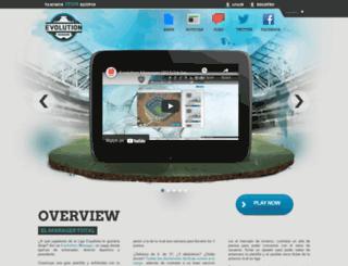 evolutionmanager.com screenshot