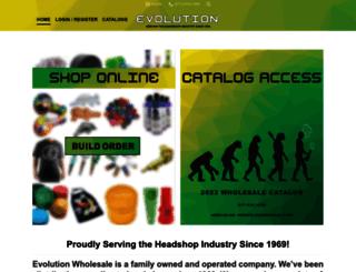 evolutionwholesale.com screenshot