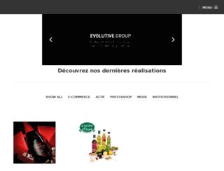 evolutive-business.com screenshot