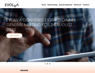 evolva.com screenshot