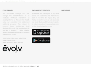 evolvcorp.com screenshot