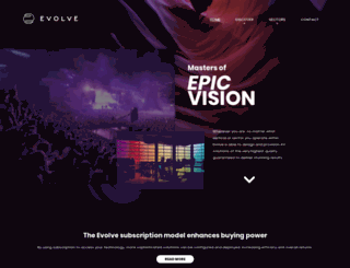 evolve.co.uk screenshot