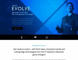 evolve.trace3.com screenshot