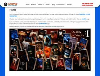 evolvedpub.com screenshot