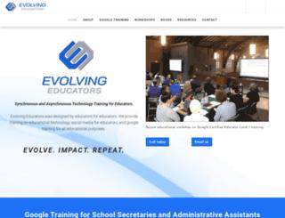 evolvingeducators.com screenshot