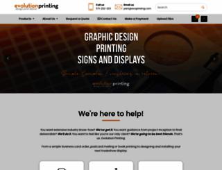 evoprinting.com screenshot