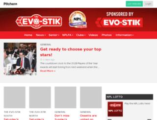 evostikleague.pitchero.com screenshot