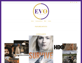 evotalentltd.com screenshot