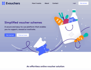 evouchers.com screenshot
