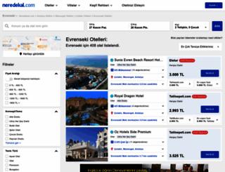 evrenseki.neredekal.com screenshot