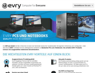 evry-pc.de screenshot