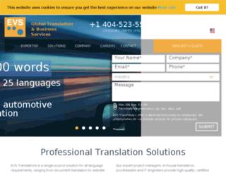 evs.visualharbor.com screenshot