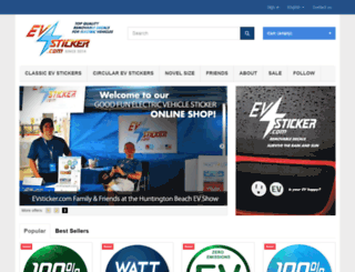 evsticker.com screenshot