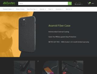 evutec.com screenshot