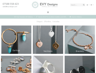 evy-designs.com screenshot