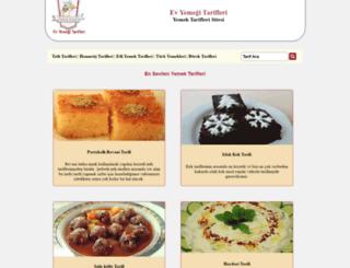 evyemegitarifleri.com screenshot