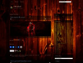 ewalled.wordpress.com screenshot