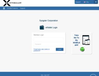 ewallet.xyngular.com screenshot