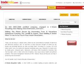 ewaste.tradeindia.com screenshot