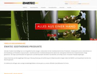 ewatec-gmbh.ch screenshot