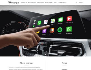 ewaygps.com screenshot