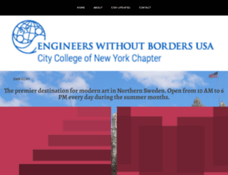 ewb-ccny.org screenshot