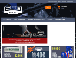 ewdsport.fr screenshot
